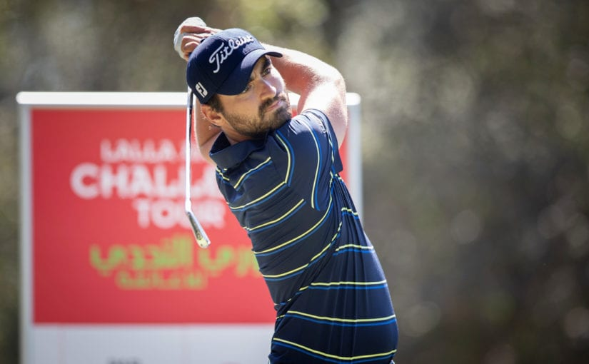 Lalla Aïcha Challenge Tour R2 - Antoine Rozner put himself in pole position to secure instant promotion to the European Tour after carding a 7-under 65
