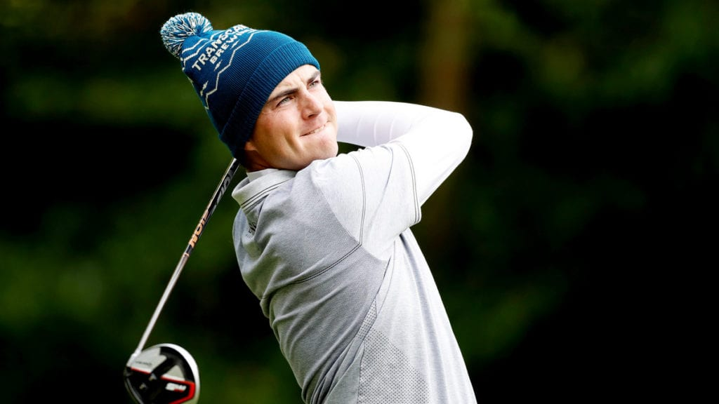 Stone Irish Challenge R1 - Aaron Cockerill's red-hot form has travelled from Morocco to Ireland and he will take a share of the lead into day two