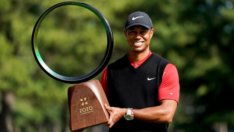 Woods looking to the future after winning 82nd PGA Tour ...