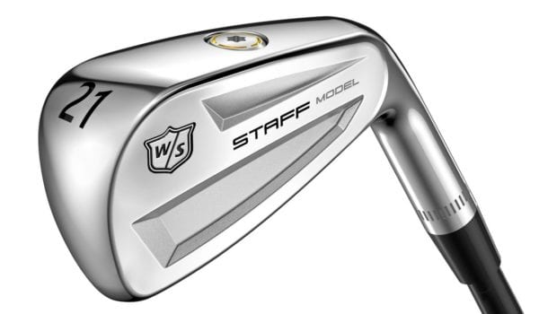 Wilson Staff Model Utility iron, used by Woodland at US Open
