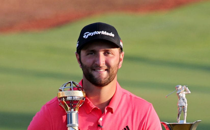 DP WTC Dubai R4 - Jon Rahm wins Race to Dubai