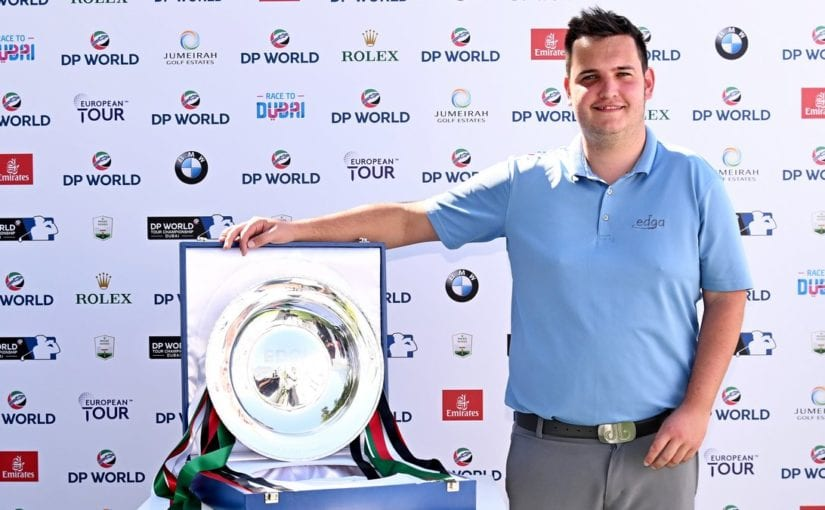 EDGA Dubai Finale - Groves held off Pfeifer to win title