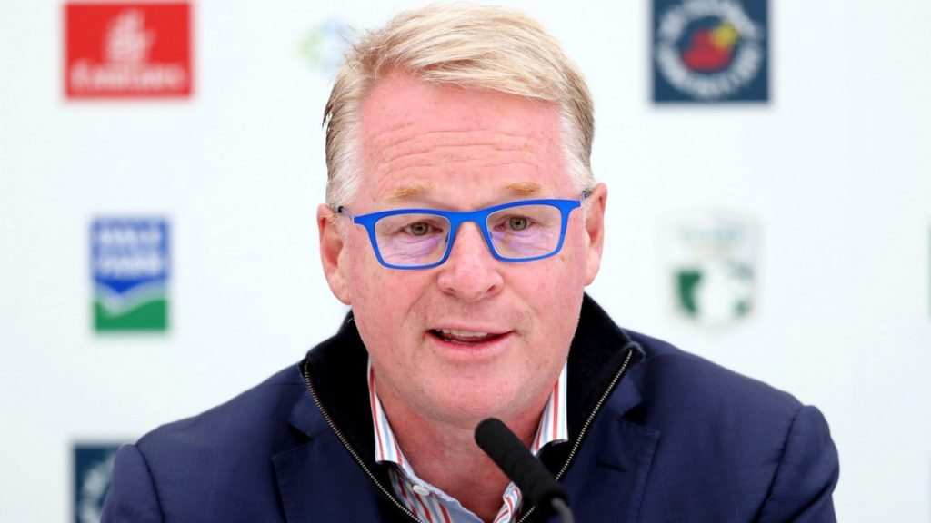European Tour - Keith Pelley discusses the state of the Tour