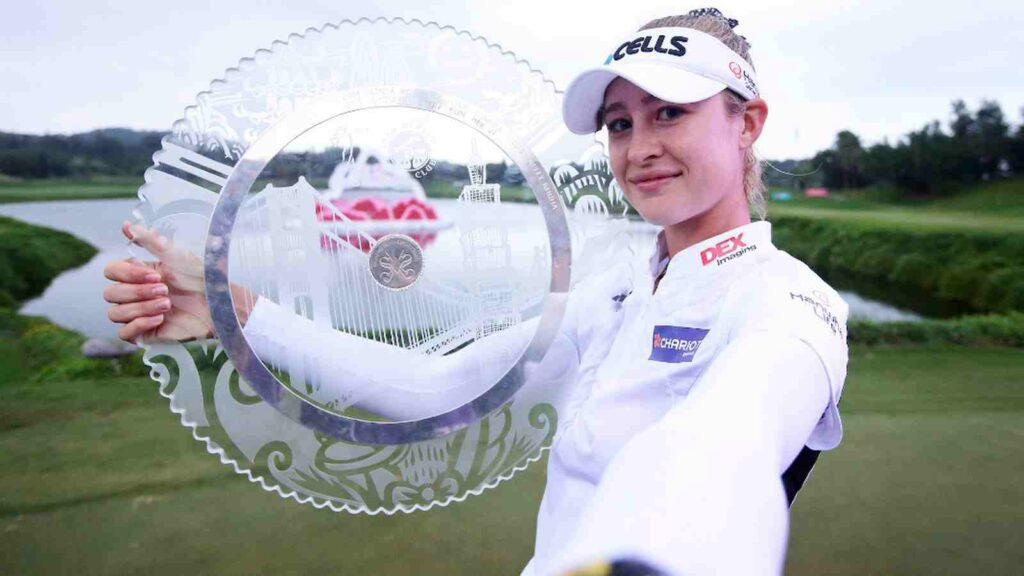 Taiwan Swinging Skirts R4 - Nelly Korda wins in playoff