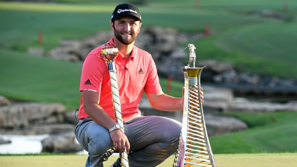 European Tour Golfer of the Year - Jon Rahm was selected by a panel comprising members of the golfing media after a superb season
