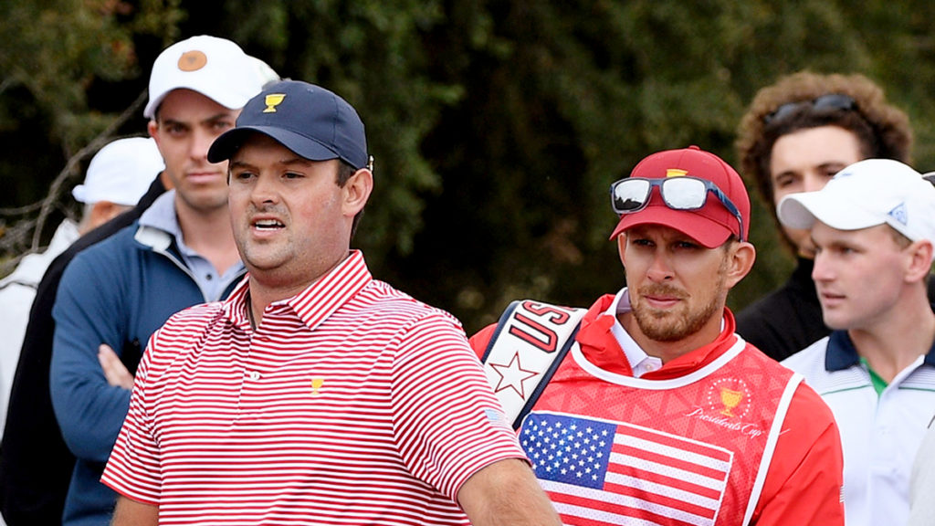 Presidents Cup - Reed caddie punished for altercation