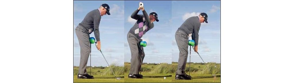 Improve your core stability and improve your golf swing