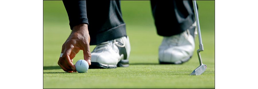 Eyes Wide Open - Visual perception in golf putting