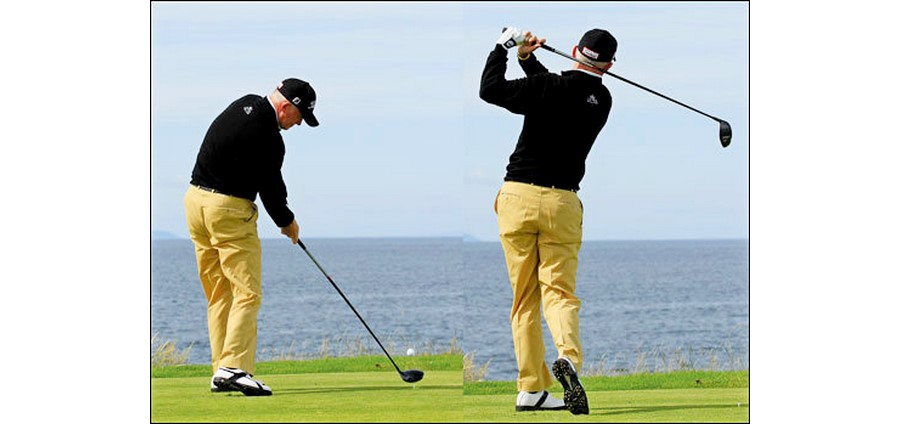 Improve your 'lag' for a more dynamic swing
