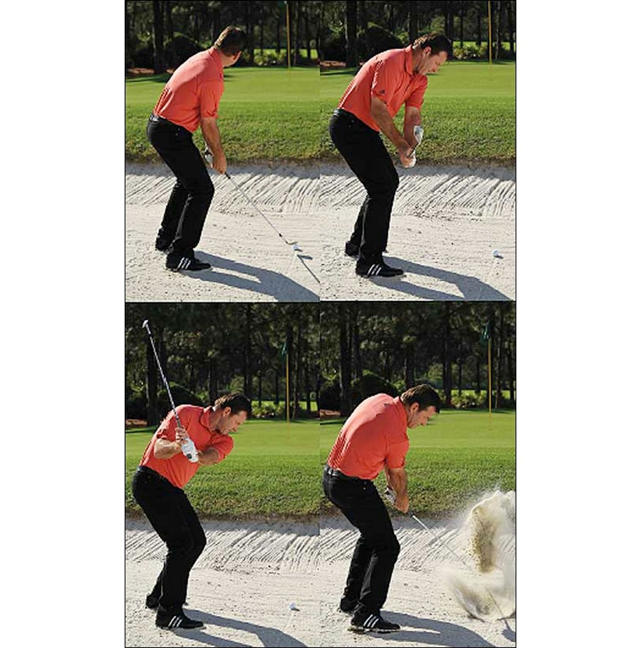 Learn to love the sand - Bunker shots with Sir Nick Faldo