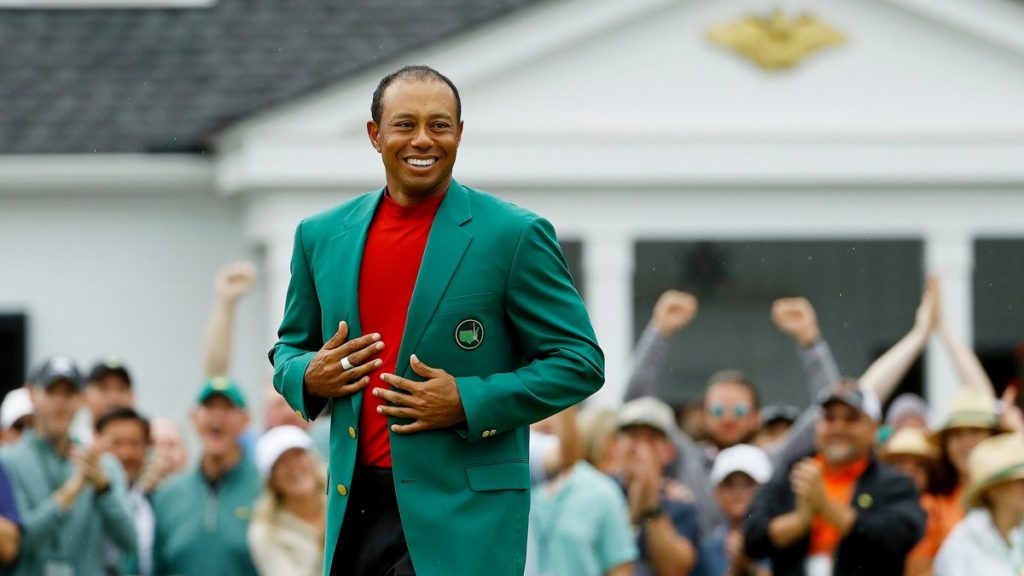 Woods' favourite Masters memory with green jacket