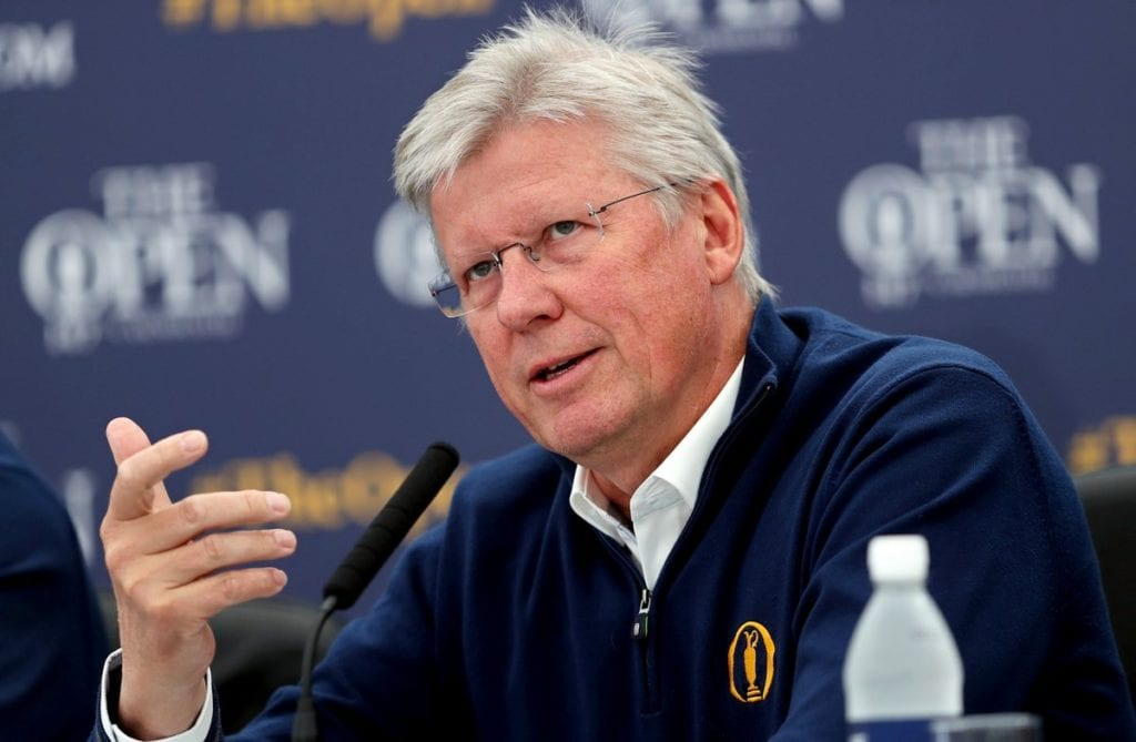 R&A chief Slumbers hopes to find common ground