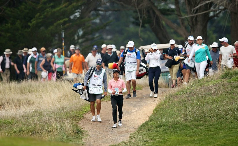 ISPS Handa Vic Open R3 - Lee takes 3-shot lead