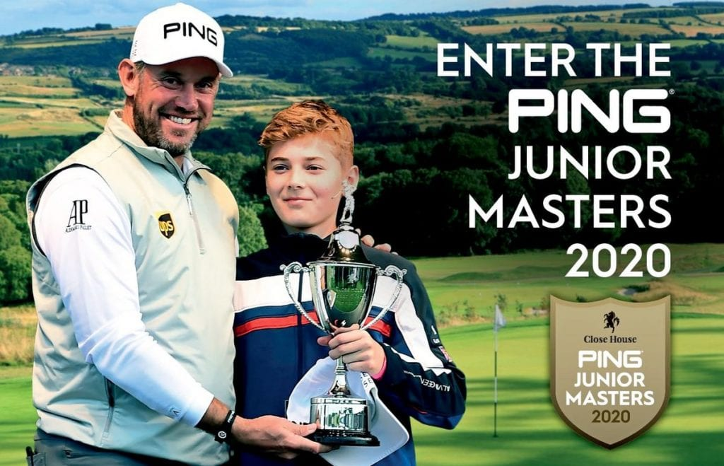 Close House and Lee Westwood celebrate junior golf