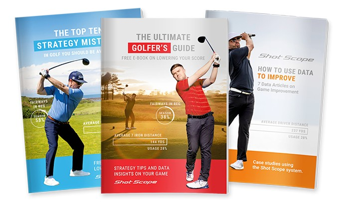 Improve your game at home with Shot Scope's third edition of FREE golf strategy guide