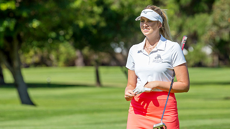 South African Women's Open R2 - Olivia Cowan takes control
