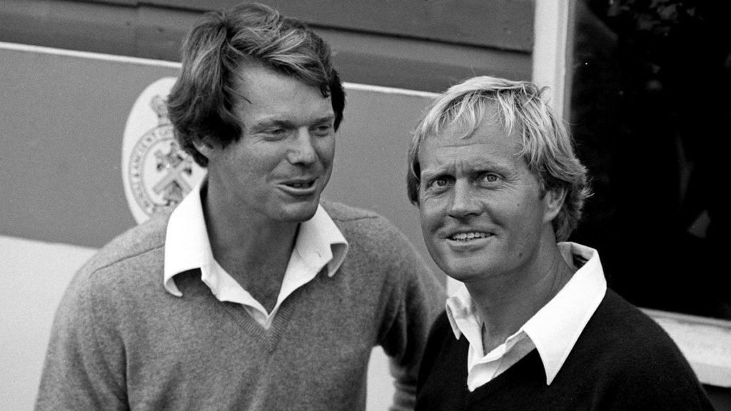 Top 10 performances in golf's major championships