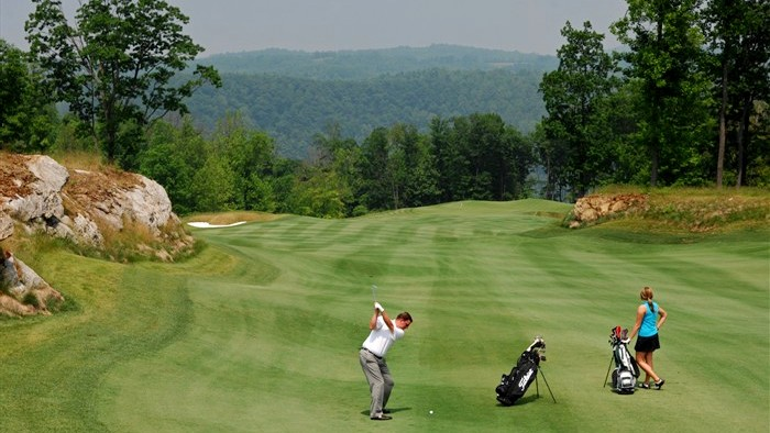 Architecture - The Highland Course at Primland Resort