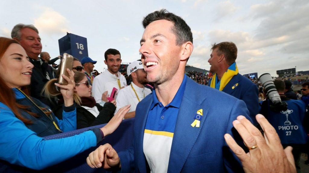Rory McIlroy not interested in playing the Ryder Cup without fans