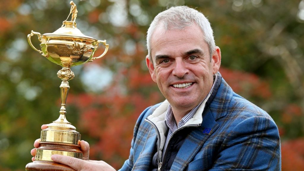 Paul McGinley would've liked to lead Europe in America