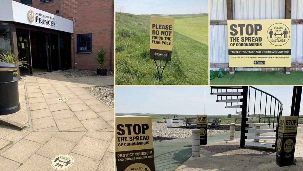 ARC unveil bespoke golf club packages to keep golfers safe as lockdown eases