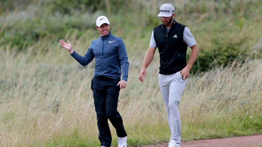 McIlroy and Johnson set to return to course for charity