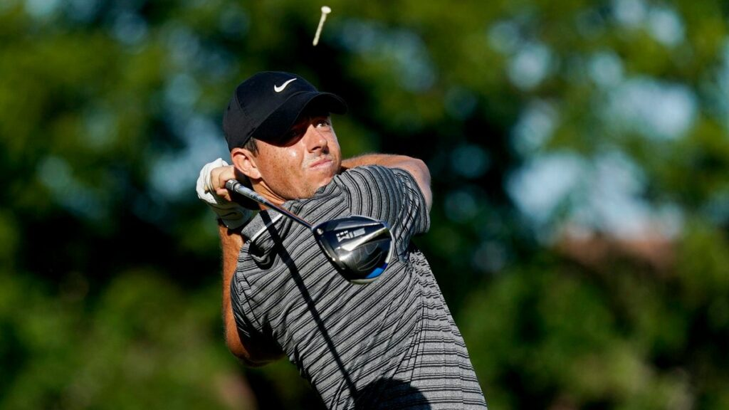 Charles Schwab Challenge R2 - McIlroy moves in contention