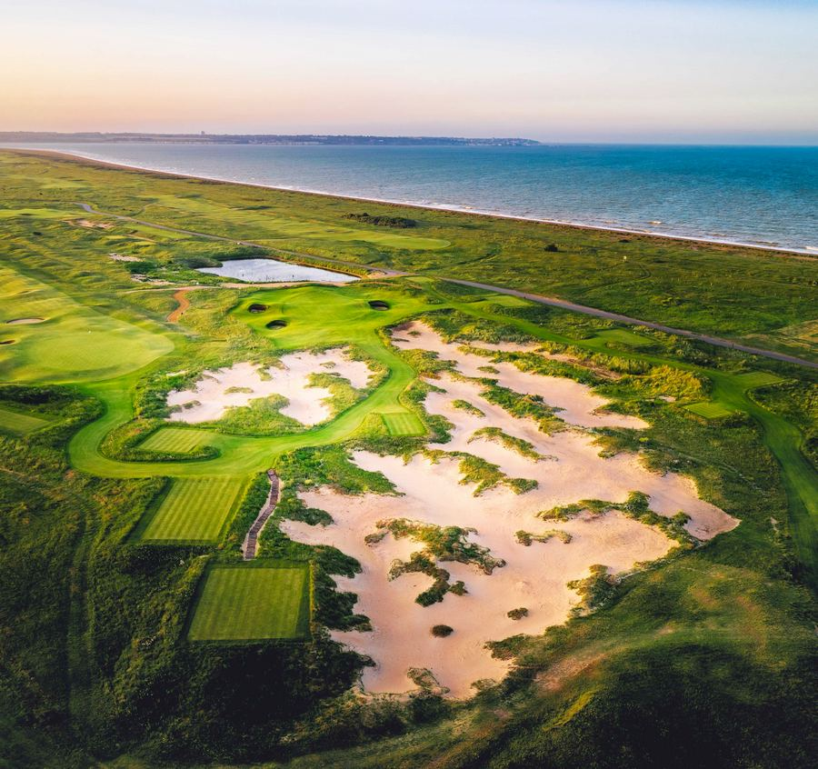 Prince's Golf Club Celebrates Finished Course Improvements with Opening of New Hole, Smugglers' Landing