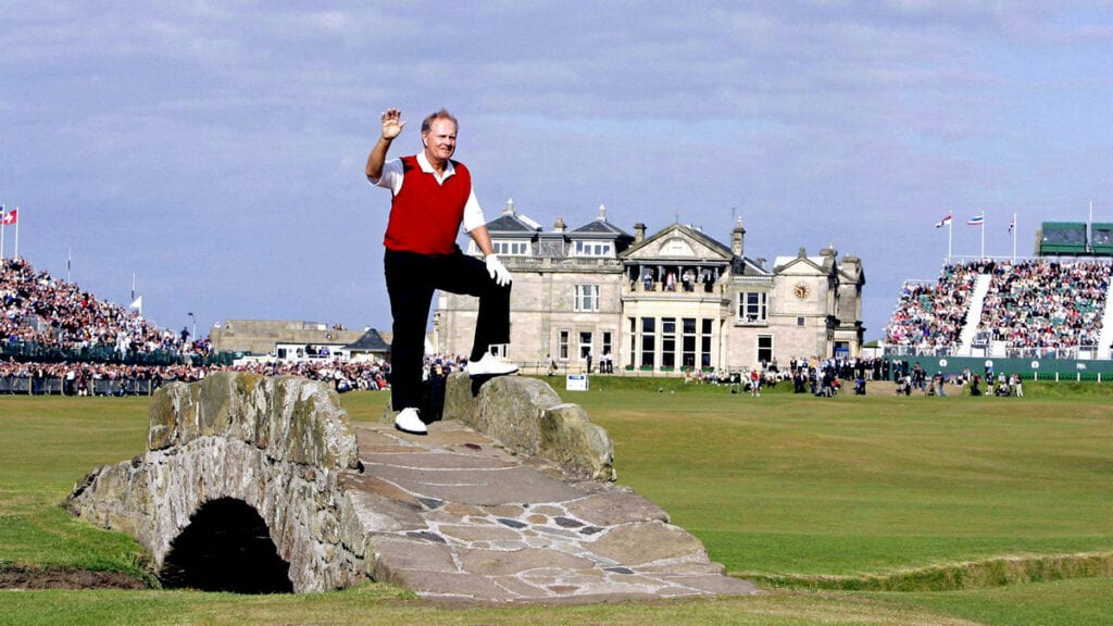 On this day in 2005: Jack Nicklaus calls time on glittering career at St Andrews