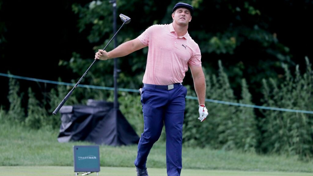 Bryson DeChambeau hoping his new-found muscle helps him power to win in Detroit