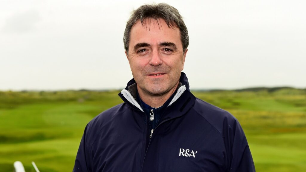 Interview with Phil Anderton. Chief Development Officer, The R&A. #FOREeveryone Initiative