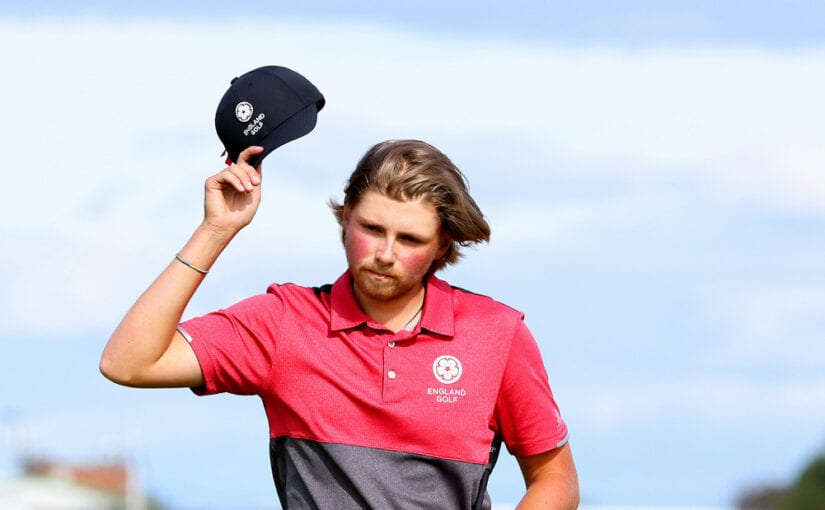 Amateur Championship - Joe Long showed composure in Southport to defeat fellow Englishman and good friend Joe Harvey, 23, in an exciting 36-hole final.