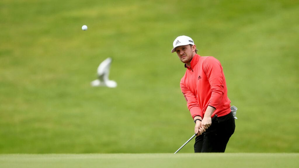 ISPS Handa Wales R3 - Birdie comes just in time for Syme as he takes share of the lead