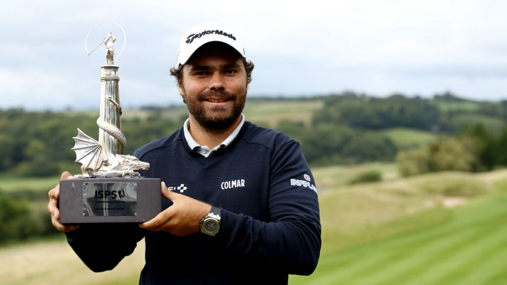 ISPS Handa Wales Open R4 - Romain Langasque produces storming finish