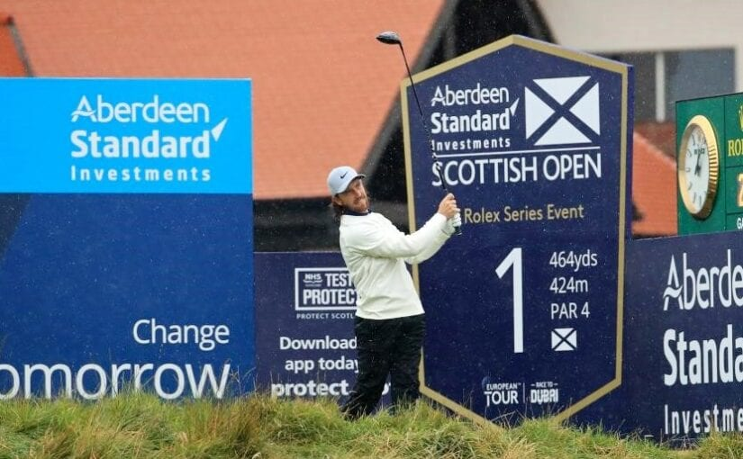 Scottish Open 2020 R3 - Fleetwood moves into contention in Scotland