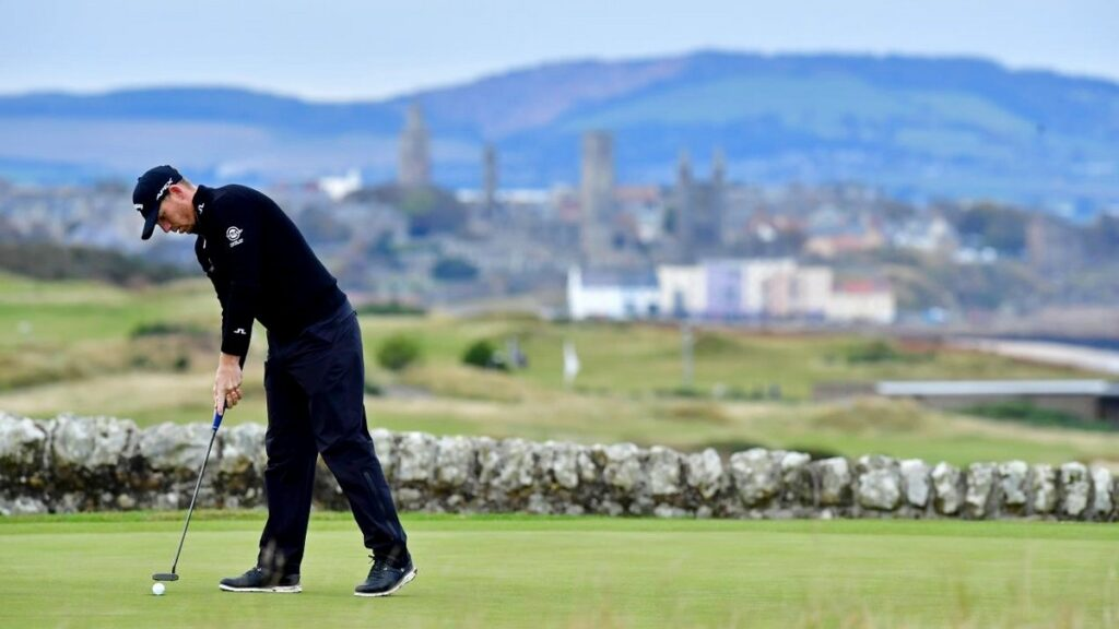Scottish Championship 2020 R2 - Wallace joins Otaegui at the summit in St Andrews