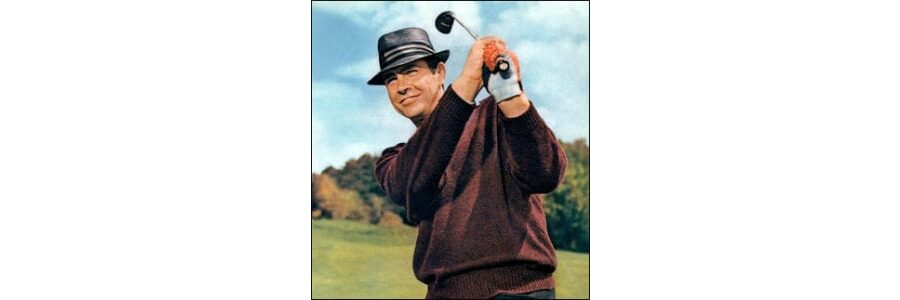 Bond Golf and Me - Sean Connery