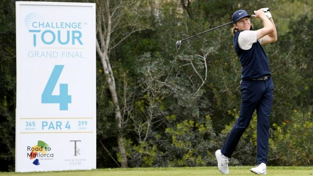 Challenge Tour Grand Final 2020 R2 - Knappe goes low to lead by two in Mallorca