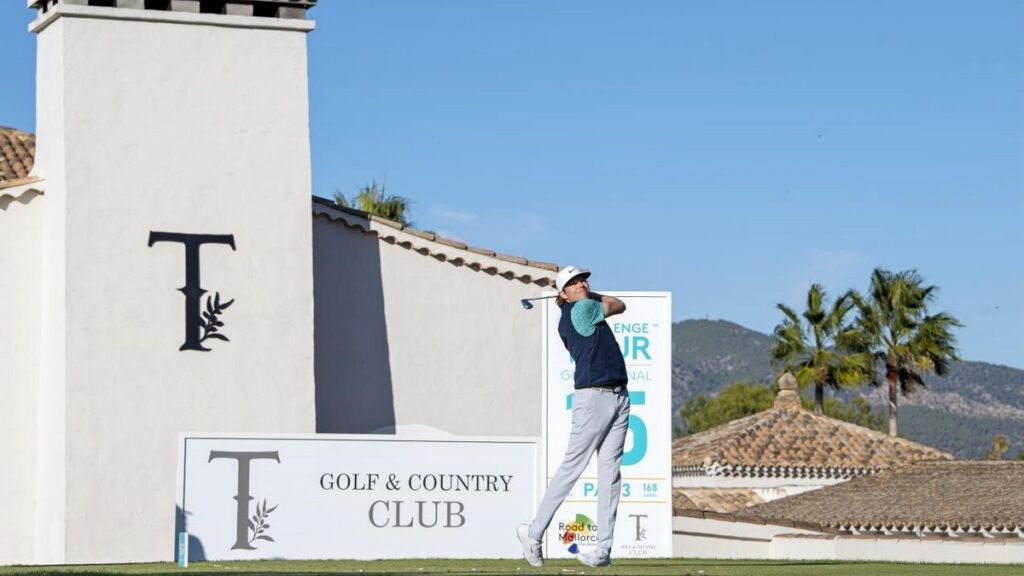 Challenge Tour Grand Final R3 - Knappe retains lead on tough day in Mallorca