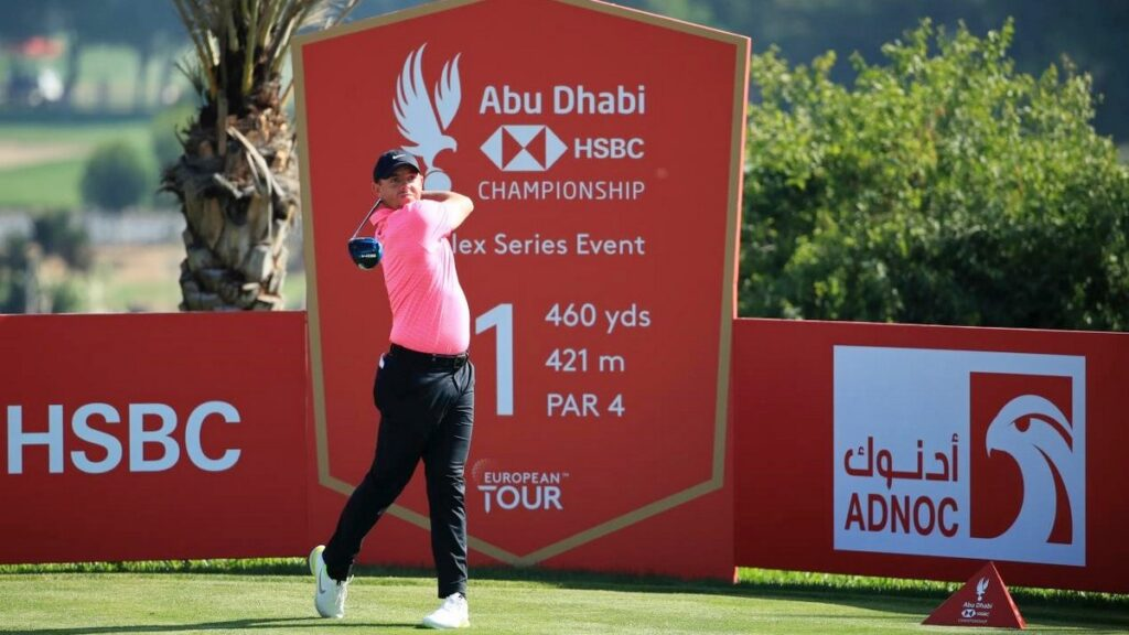 Abu Dhabi HSBC Championship 2021 R1 - McIlroy off to a perfect start