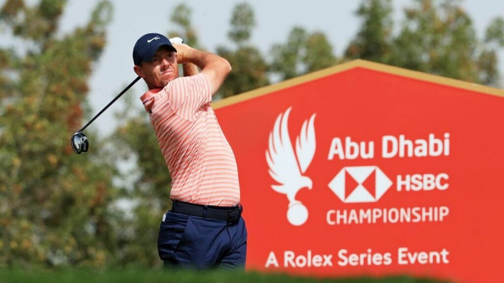 Abu Dhabi HSBC Championship 2021 R3 - McIlroy poised for maiden Rolex Series victory in Abu Dhabi