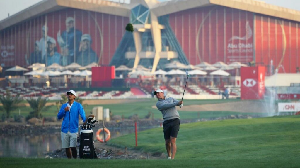 McIlroy aiming to get the job done in Abu Dhabi