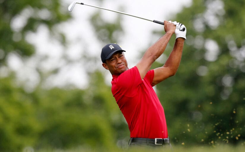 Nearly driven to disaster - Tiger Woods & Ben Hogan