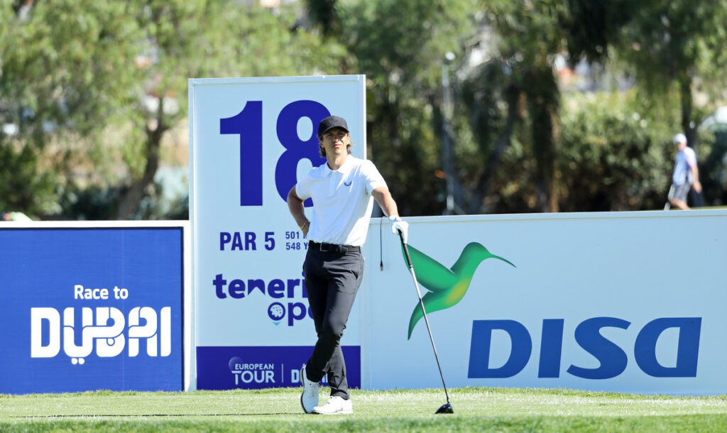 Tenerife Open 2021 R1 - Olesen takes lead with course record in Tenerife