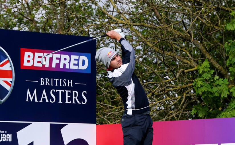 British Masters 2021 R1 - Matthias Schwab takes opening lead with 66