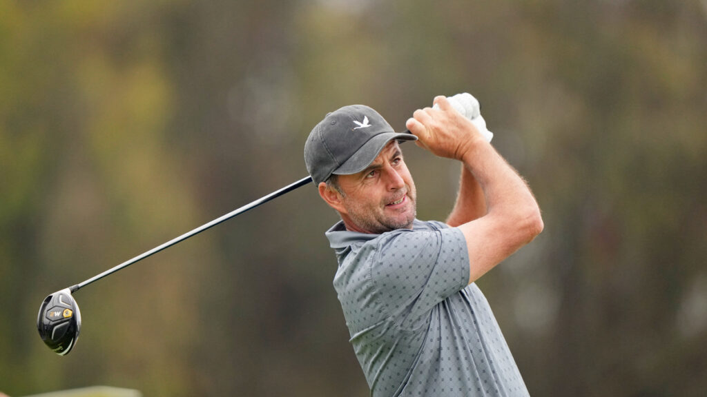 Us Open 2021 Bland Golf Atop Leaderboard Golf Today
