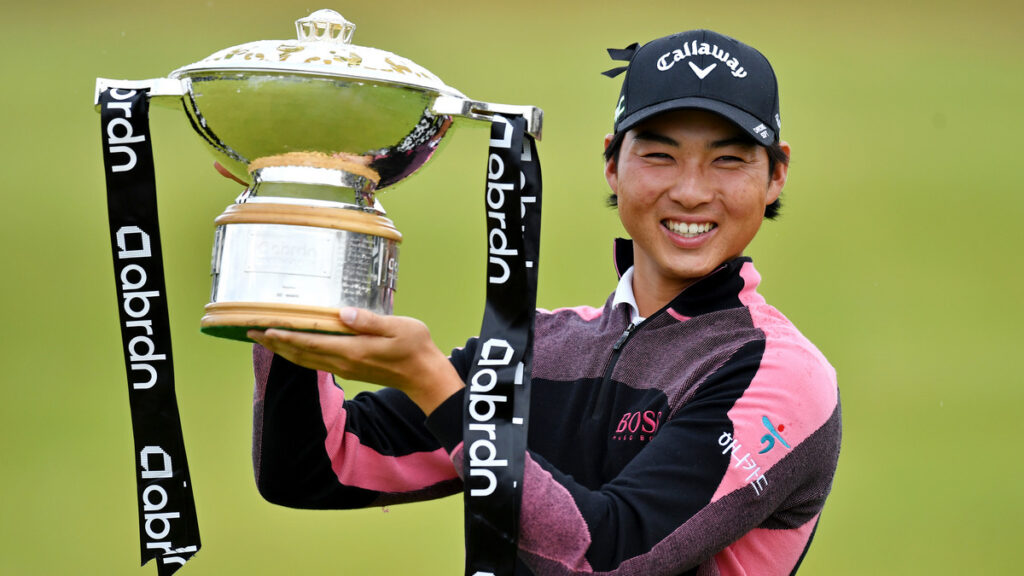 Scottish Open 2021 R4 - Min Woo Lee wins maiden Rolex Series title in play-off