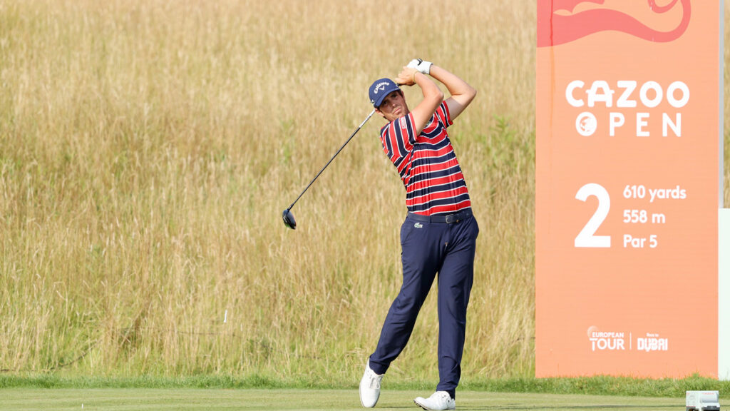 Cazoo Open 2021 R2 - Nacho Elvira takes two shot lead into the weekend in Wales