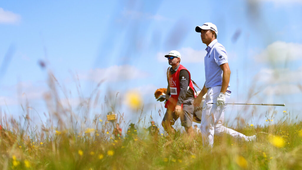 Can Louis go wire-to-wire for the Claret Jug?