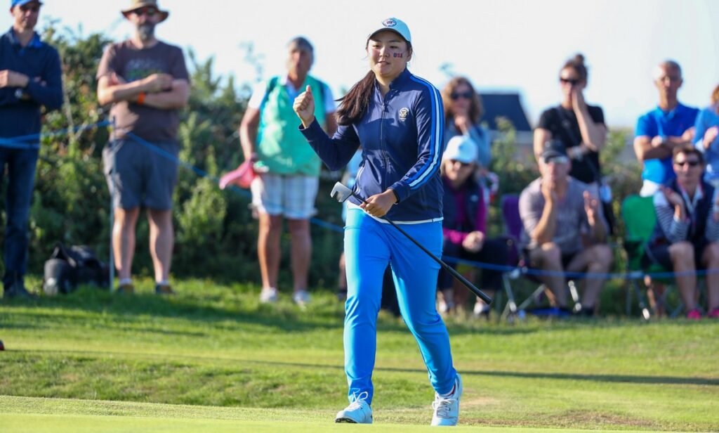Curtis Cup 2021 R2 - USA stages stirring second day comeback